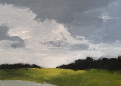 """Texas Storm"" original fine art by Pamela Munger"