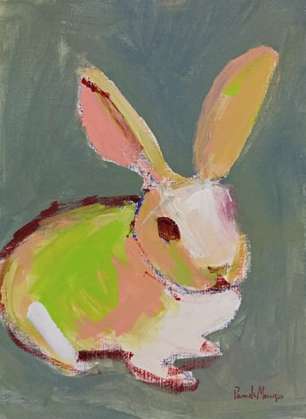 """Bunny"" original fine art by Pamela Munger"