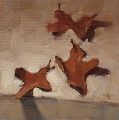 """Fallen Oak"" original fine art by Carol Marine"