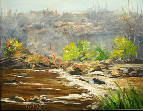 """San Juan River"" original fine art by Barbara Haviland"