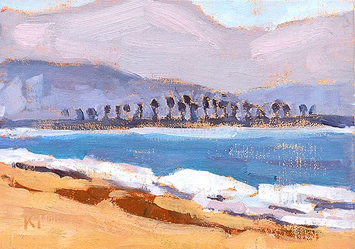 """Coronado, Looking South"" original fine art by Kevin Inman"