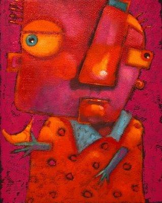 """Ollie's Songbird"" original fine art by Brenda York"