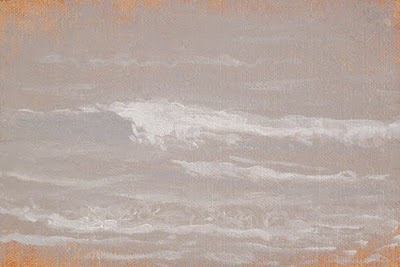 """Waves in the Fog"" original fine art by Abbey Ryan"