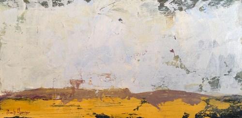 """""""Ochre Landscape"""" original fine art by Pamela Munger"""