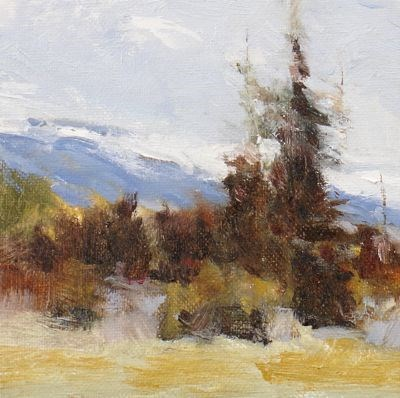 """""""Early Autumn High Country"""" original fine art by Susan Hammer"""