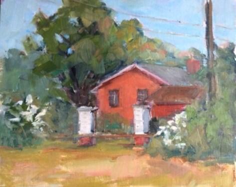 """Beehives"" original fine art by Carol Josefiak"