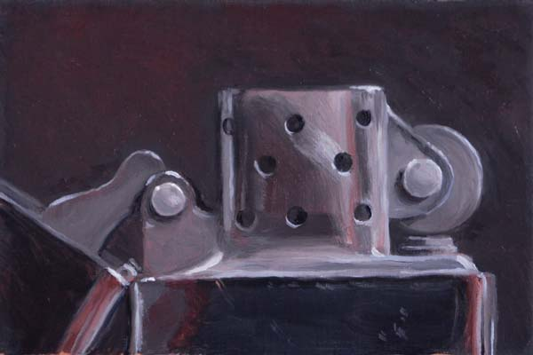 """The Zippo"" original fine art by Susan Matteson"
