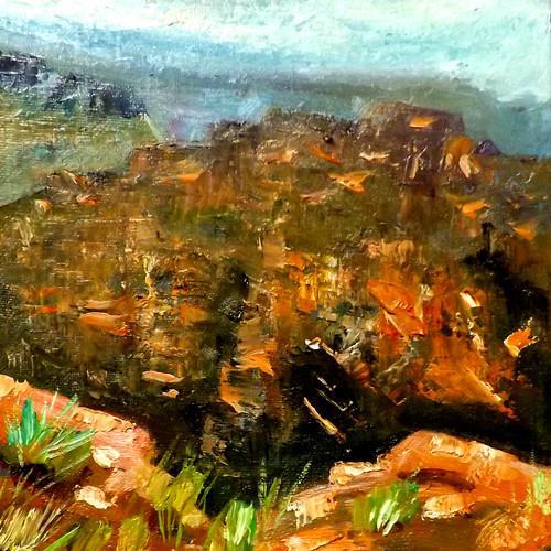 """""""Grand Canyon 2"""" original fine art by Run-      Zhang Zane"""