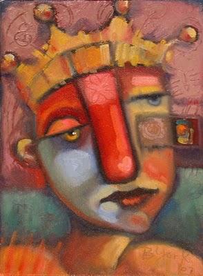 """Queen Of Thisnthat"" original fine art by Brenda York"