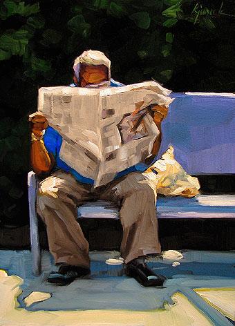 """Sun Times"" original fine art by Karin Jurick"