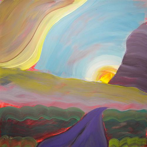 """Valley Storm 4"" original fine art by Pam Van Londen"