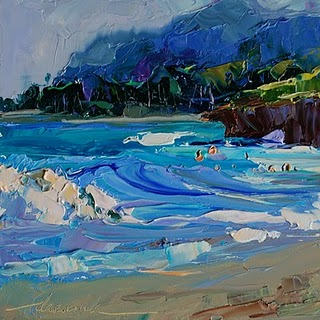 """North Shore Beauty, Oahu, Hawaii SOLD"" original fine art by Dreama Tolle Perry"