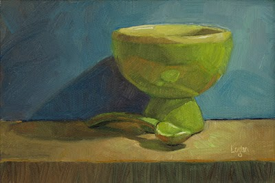 """Where's My Ice Cream?"" original fine art by Raymond Logan"