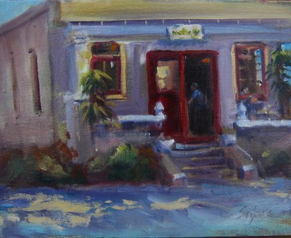 """Po Boys, New Orleans"" original fine art by Connie Snipes"