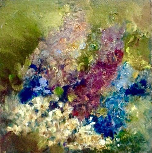 """Bouquet"" original fine art by Judy Usavage"