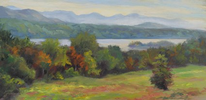 """Vanderbilt Vista"" original fine art by Jamie Williams Grossman"