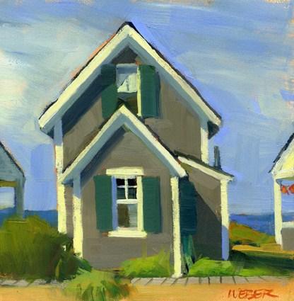 """view from Corn Hill"" original fine art by Kathy Weber"