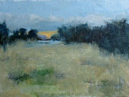 """""""Sunset #7"""" original fine art by Susan Hammer"""