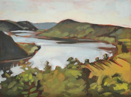 """Morning View"" original fine art by Jessica Green"