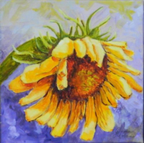 """Sunflower #3"" original fine art by Gloria Urban"
