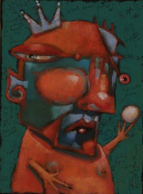 """Eye On The Prize"" original fine art by Brenda York"