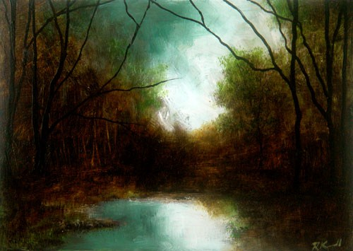 """Approaching Storm"" original fine art by Bob Kimball"