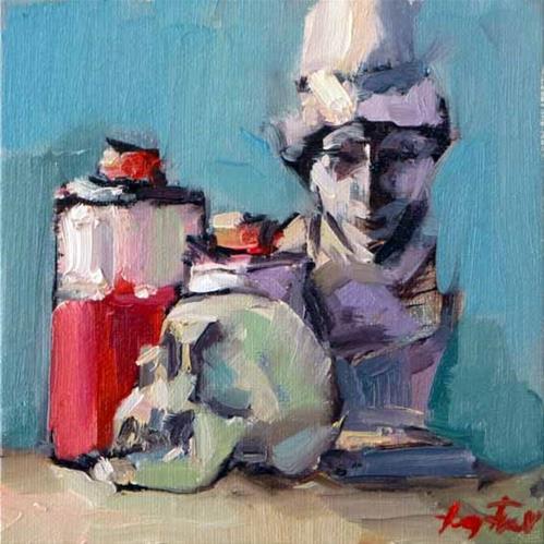 """""""eine studie"""" original fine art by Jurij Frey"""