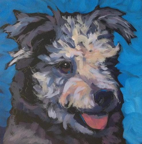 """July 2, Bimo"" original fine art by Kat Corrigan"