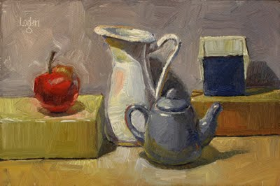 """Still Life Landscape #5"" original fine art by Raymond Logan"