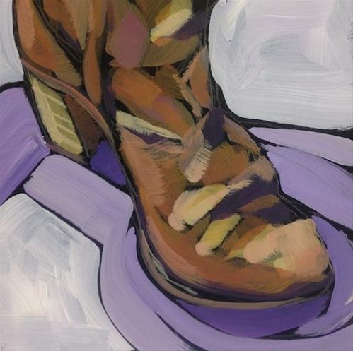 """Heel To Toe"" original fine art by Kat Corrigan"