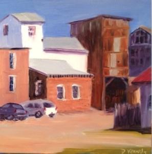 """""""Easton, MD"""" original fine art by Debra Kennedy"""