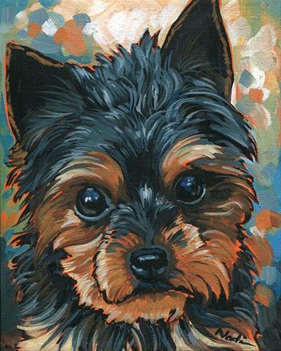 """14/90 Joey"" original fine art by Nadi Spencer"
