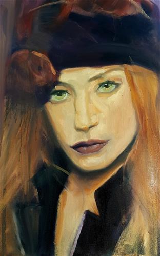 """Velvet is back"" original fine art by Rentia Coetzee"