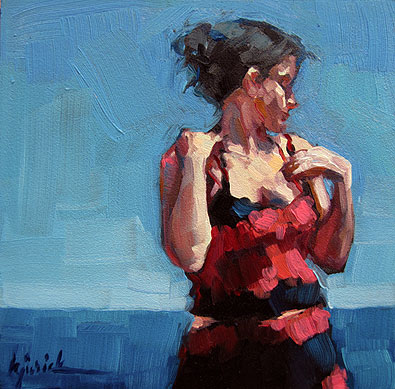 """Summer III"" original fine art by Karin Jurick"