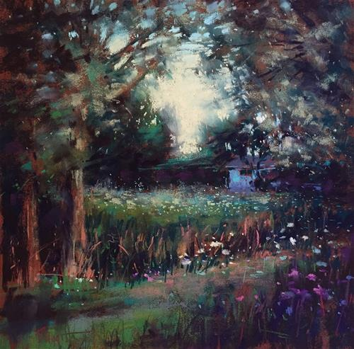 """Secret Garden"" original fine art by Marla Baggetta"