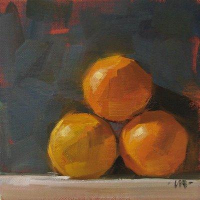 """""""Pyramid"""" original fine art by Carol Marine"""