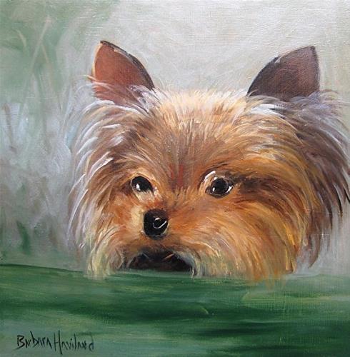 """Hannah"" original fine art by Barbara Haviland"