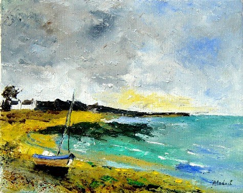 """seascape 45150705"" original fine art by Pol Ledent"