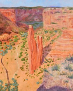 """Spider Rock"" original fine art by Robert Frankis"