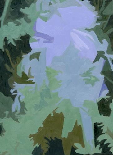 """BLUE NOTES"" original fine art by Nancy Herman"