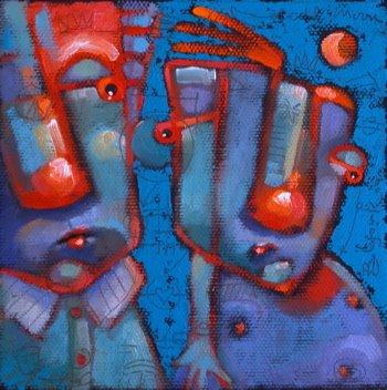 """Daydreamers"" original fine art by Brenda York"