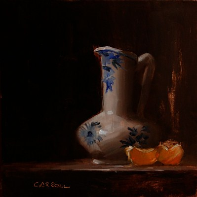 """Delft Jug"" original fine art by Neil Carroll"