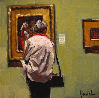 """""""Little Women"""" original fine art by Karin Jurick"""