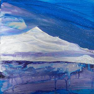 """Arctic Landscape 2"" original fine art by Pam Van Londen"
