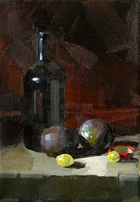 """""""Colors of Black --- Sold"""" original fine art by Qiang Huang"""