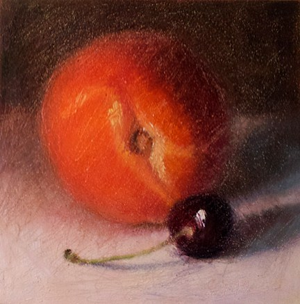 """Fruity"" original fine art by Cindy Haase"