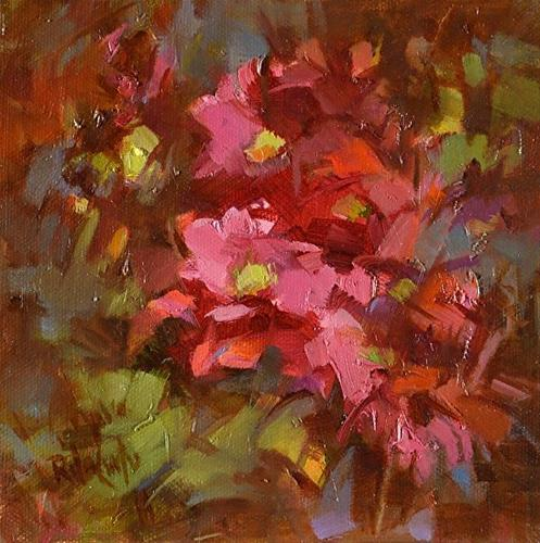"""A Passion for Red"" original fine art by Rita Curtis"
