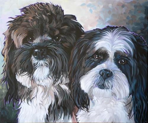 """Apache and Dakota"" original fine art by Nadi Spencer"