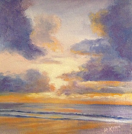 """End of a Great Day"" original fine art by Judith McKenna"