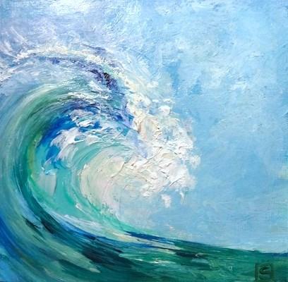 """4141 - The Wave - KISS Painting"" original fine art by Sea Dean"